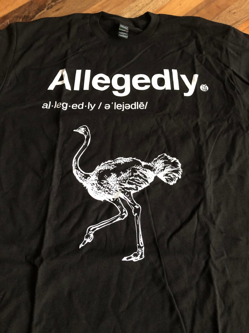 Illustration for article titled It cost more for shipping than the shirt, but that's still better than fucking a dead ostrich.