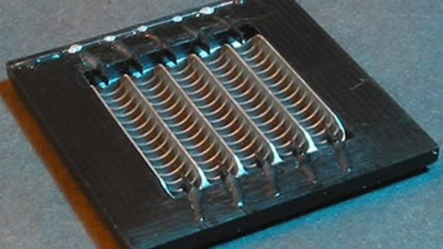 Microchip Sized Solid State Fan Actively Cools Laptops