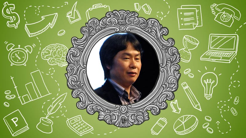 Illustration for article titled Shigeru Miyamoto's Best Creativity Tips