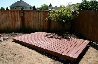 How to build your own backyard deck for How to build an outdoor yoga platform