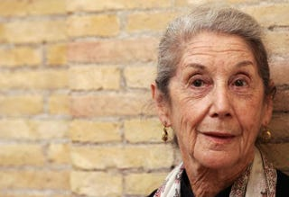 South African novelist Nadine Gordimer in Rome, May 29, 2006TIZIANA FABI/AFP/Getty Images