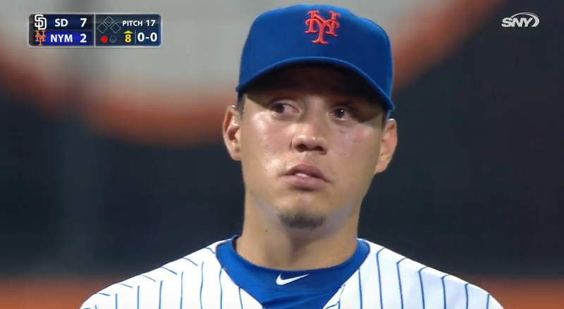 Illustration for article titled Wilmer Flores Cries After Learning He'd Been Traded, Stays In The Game (UPDATE)