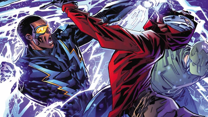 Illustration for article titled In DC's New Black Lightning Comic, Jefferson Pierce Is a Hero Reimagined For a New Era