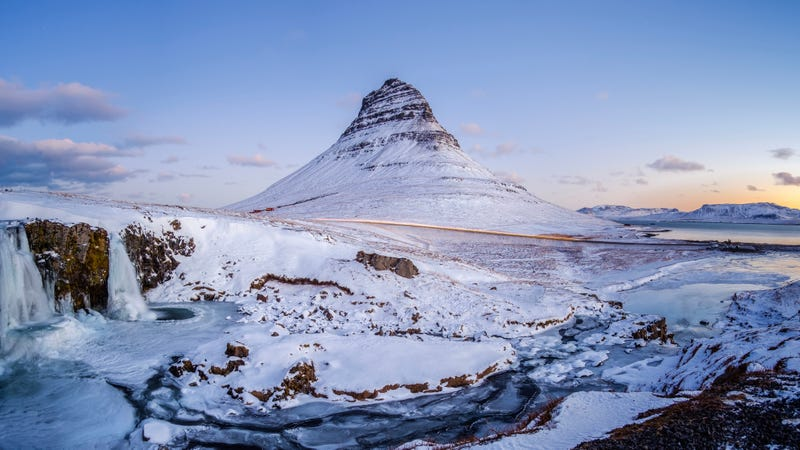 Remember this location from last season? Good, because it's not where the Finnish ice hotel is. (Photo: Hendrik Osula/SOPA Images/LightRocket via Getty Images)