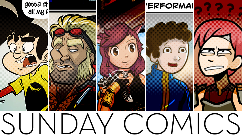 Illustration for article titled Sunday Comics: Live Musical Performances
