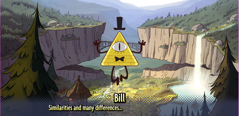Illustration for article titled Visual Novel Takes Fans Back To Gravity Falls, Kinda