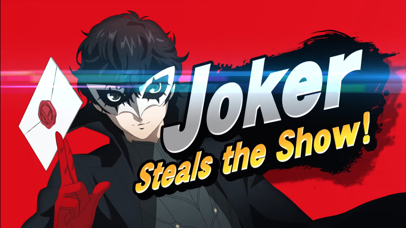 Illustration for article titled Persona 5's Joker, A Stage Builder And More Are Coming To Smash Bros. Ultimate Tomorrow
