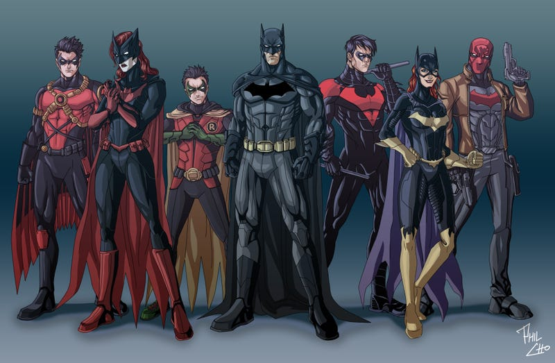 Illustration for article titled The Graveyard Shift: Bat-Family Dateability Edition