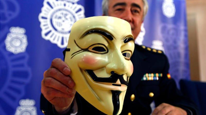 Rueda de prensa de la policía en junio de 2011. Imagen de David Castro / Flickr (CC)