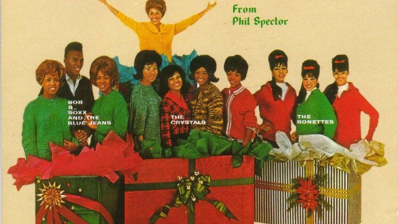 Illustration for article titled Phil Spector's A Christmas Gift For You aimed for respectability—and created a new tradition