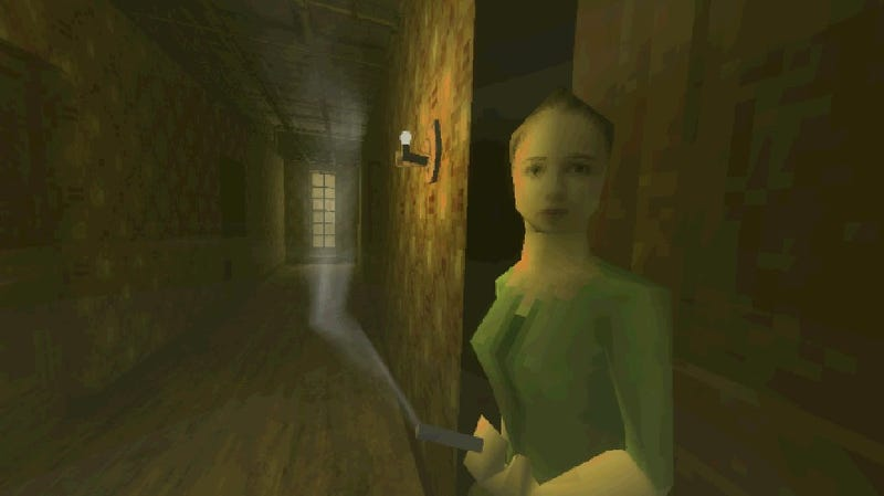 Blurry PlayStation graphics make for seriously surreal horror in