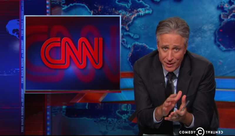 Illustration for article titled Jon Stewart Rips CNN For Ignoring Protests in Favor of Black Tie WHCD