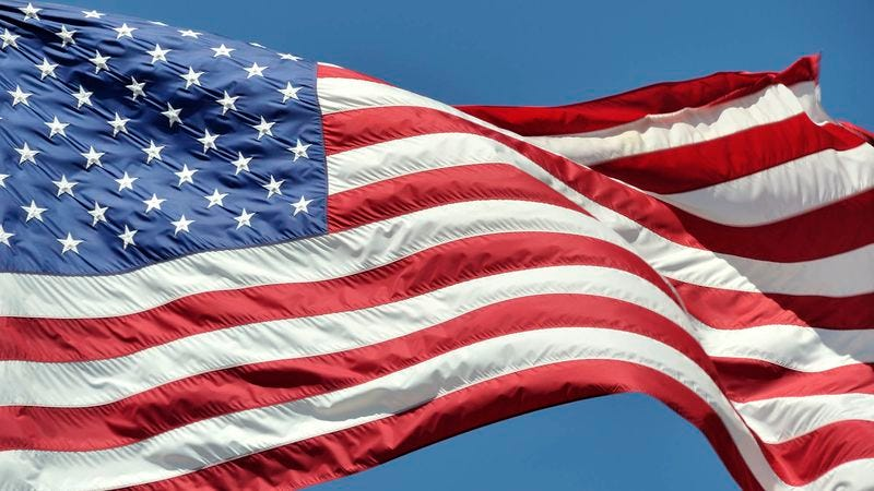Illustration for article titled Report: All Things Aside, American Flag Still Looks Pretty Good Majestically Billowing In Wind