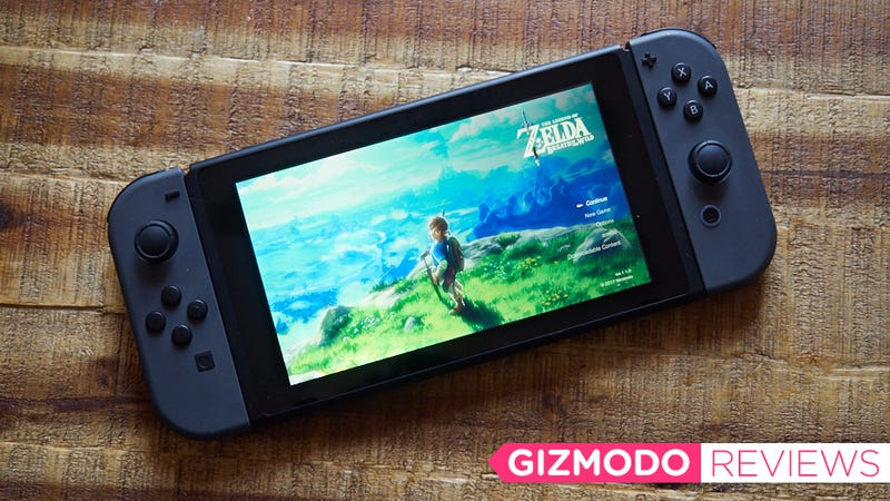 Nintendo Switch Review: Plays Zelda Great, Doesn't Do Much Else