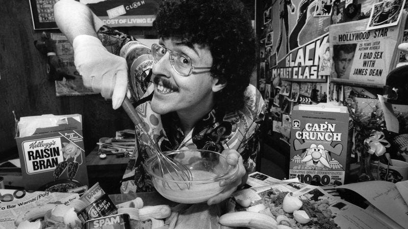 """Weird Al"" Yankovic in 1984 (Photo: Bob Riha Jr/Getty Images)"