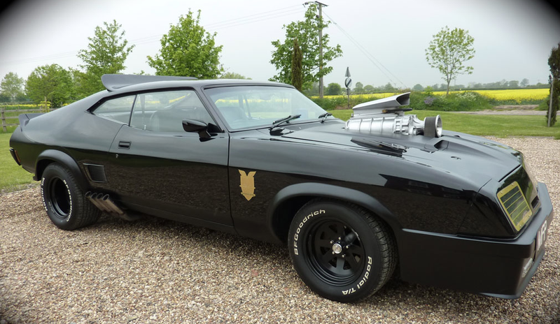 This Mad Max Spec Ford Falcon Interceptor Is Currently For Sale On Ebay In The Uk The Price Is A Heady  But For That You Get Low Miles