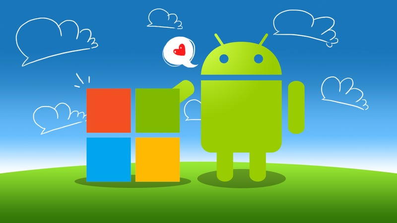 Illustration for article titled The Best Microsoft Apps For...Android?