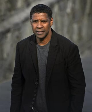 Denzel Washington poses for photographers after the screening of his film The Equalizer during the 62nd San Sebastian Film Festival in Spain on Sept. 19, 2014.RAFA RIVAS/AFP/Getty Images