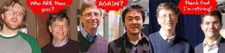 Illustration for article titled Retromodo: Gizmodo's Bill Gates Interviews Through History