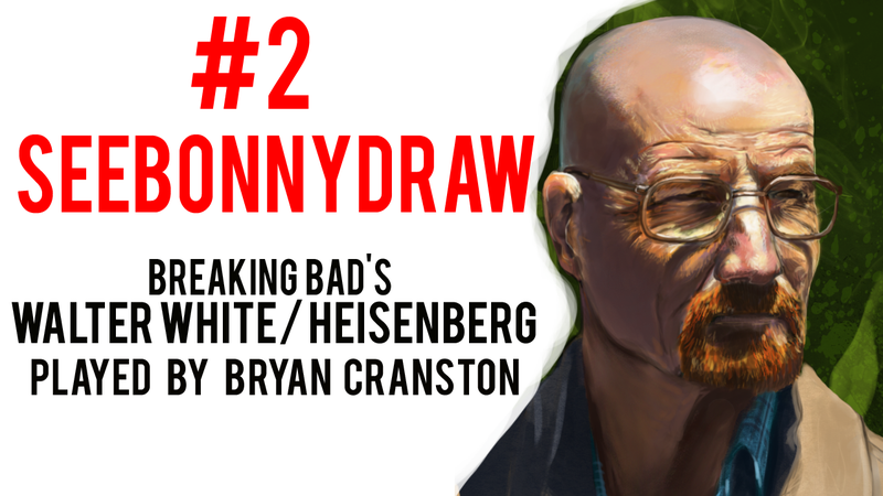 Illustration for article titled Walter White Fan Art for the Weekend!