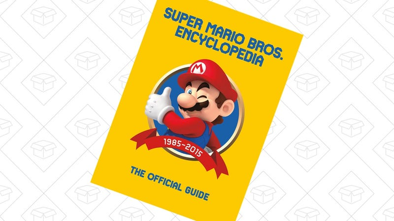 Preorder Super Mario Encyclopedia | $24 | AmazonPreorder Super Mario Encyclopedia Limited Edition | $48 | Amazon