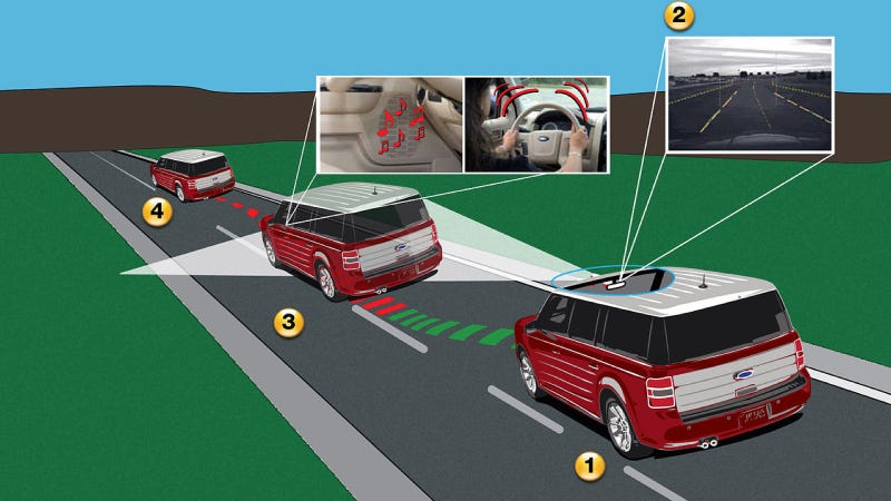 Illustration for article titled Go Ahead, Put Jalops In Charge Of The Accident Avoidance System Today