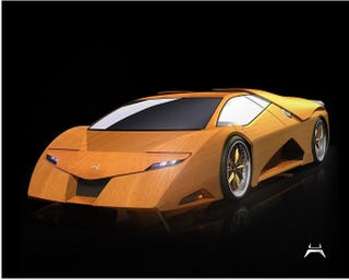 Illustration for article titled Amazing Wooden Supercar Makes Burning Rubber Even More Dangerous