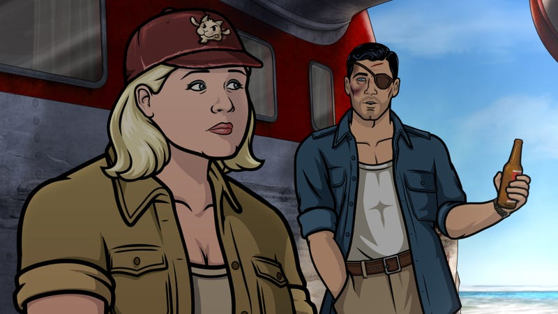 Illustration for article titled Danger Island sends Archer, Pam, and Crackers on a quest for an idol