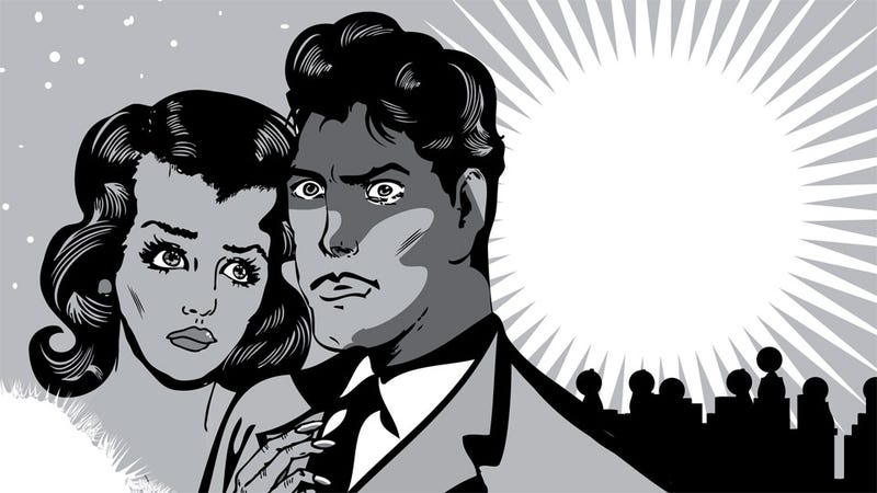 Illustration for article titled At the Very Least, Marriage Might Keep You From Becoming a Wretched Pile of Misery