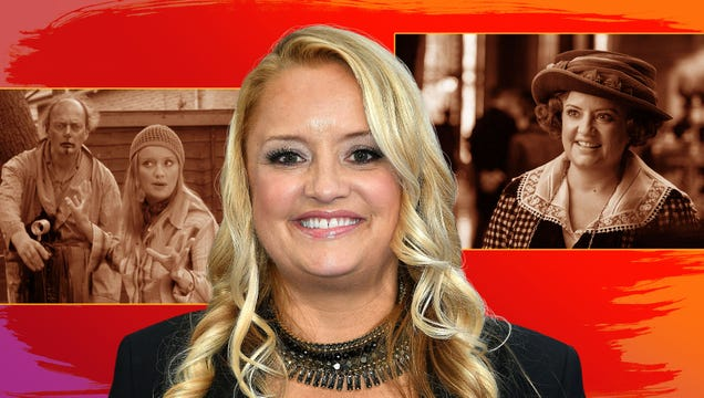Lucy Davis on getting sick fromShaun Of The Dead and watching the U.S. version of The Office