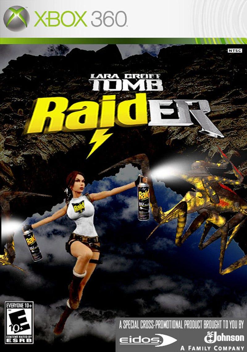 Illustration for article titled Tomb Raider? Tomb Raid-er? Womb Raider?