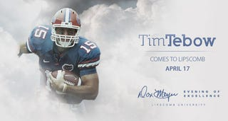 Illustration for article titled Tim Tebow Messiah Watch: Ascension Edition