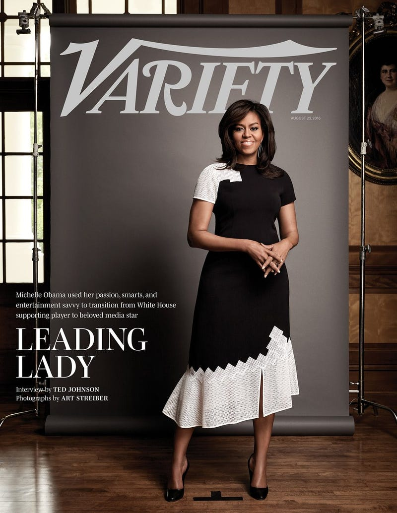 First lady Michelle Obama on the cover of Variety magazineVariety