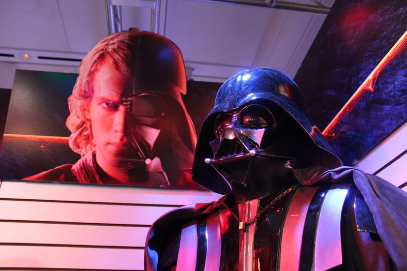 Illustration for article titled The Origin of Darth Vader: The New Star Wars Figures at Toy Fair