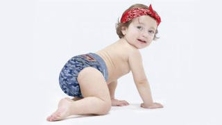 Illustration for article titled The Most Fashionable Babies Are Pooping In Designer Diapers