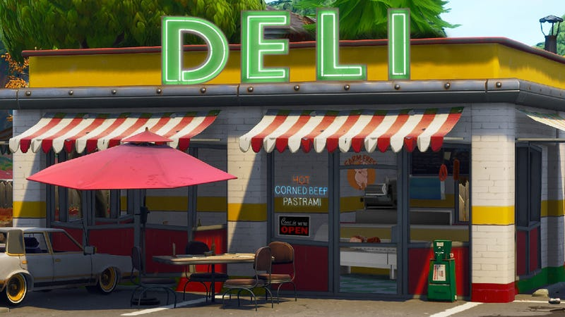 Illustration for article titled 'Fortnite' Players Up In Arms Over New Map Addition After Discovering Its Deli Counter Only Features 2 Types Of Salami