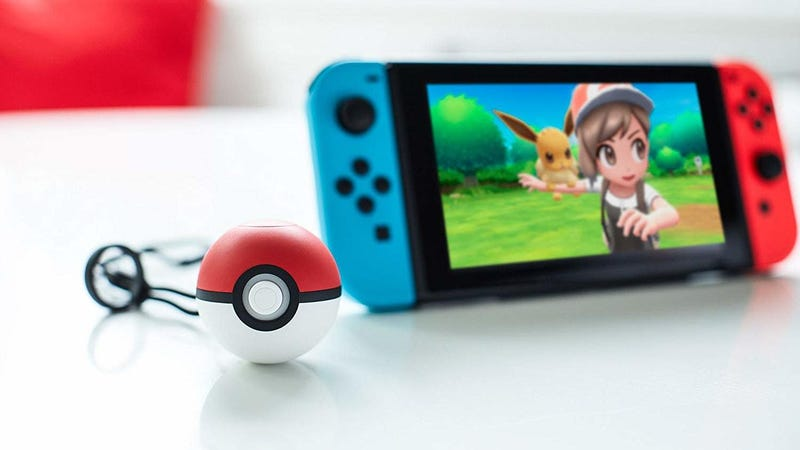 Illustration for article titled Nintendo's Pokéball Plus Has Never Been Cheaper