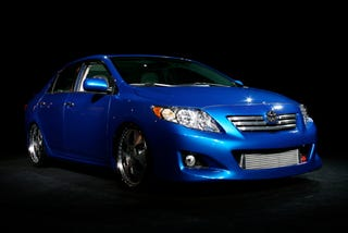 Illustration for article titled 2009 Toyota Corolla Unveiled