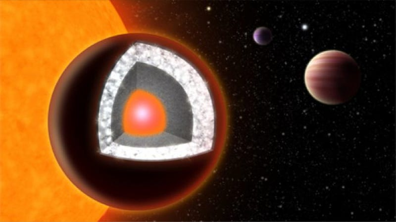Illustration for article titled One of the first exoplanets ever discovered could actually be made of diamond