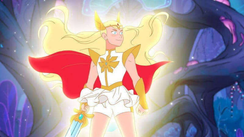 Illustration for article titled Netflix releases some stylish teaser images from its new She-Ra cartoon