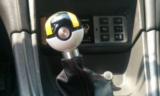 Illustration for article titled He Took The Ultraball From Pokémon And Turned It Into A Gear Shifter