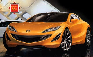 Illustration for article titled Mazda RX-7 Concept To Appear In Tokyo?