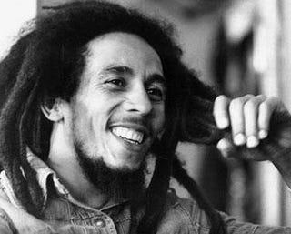 Legendary musician Bob Marley