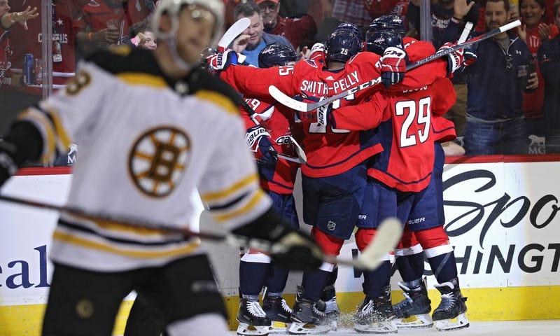 Illustration for article titled Capitals Set New Record In Brutal Season-Opening Thrashing Of Boston
