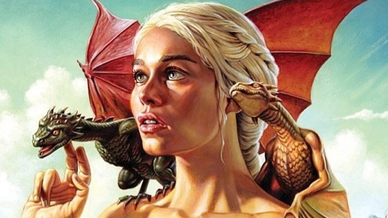 Check Out The Astonishing Artwork From Mondos Game Of Thrones