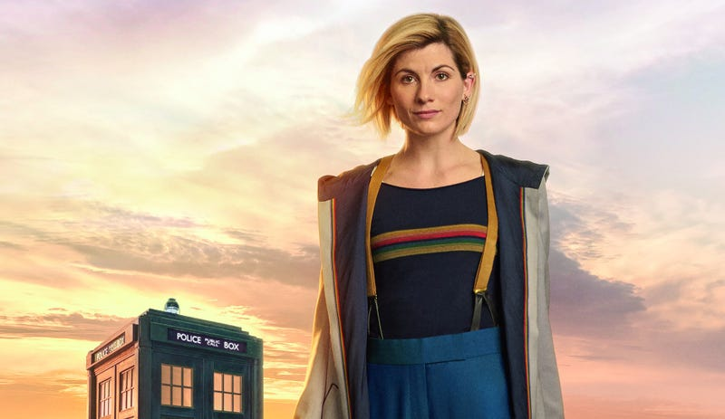 Jodie Whittaker is The Doctor (Image: BBC America)