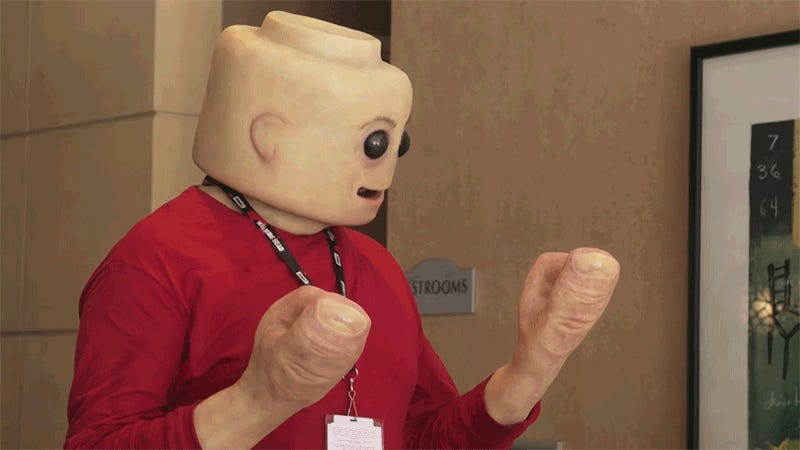 A Human Lego Minifigure Is All Your Nightmares Come True