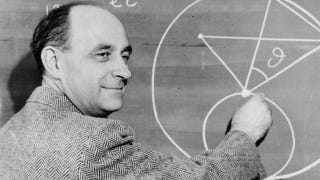 Illustration for article titled There is a major error in this famous photo of physicist Enrico Fermi