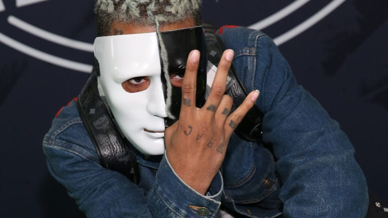 Rapper XXXTentacion at the BET Hip Hop Awards 2017 at the Jackie Gleason Theater on Oct. 6, 2017, in Miami Beach.