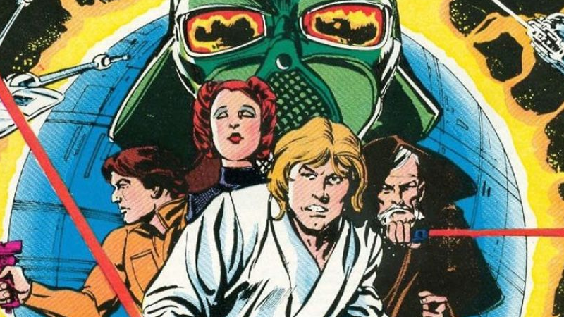 Illustration for article titled Looking Back at Marvel's Wonderfully Weird Comic Adaptation of the First Star Wars Movie